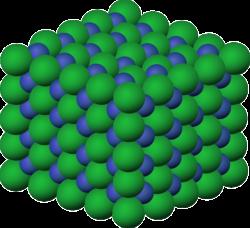 Ionenaustauscher - Kristallstruktur eines Ions
